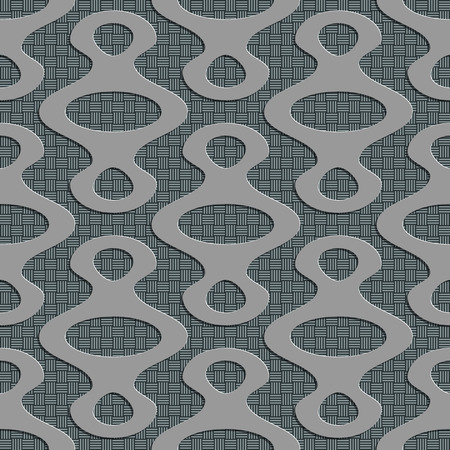 soft background: Seamless Ellipse Pattern. Vector Soft Background. Regular Gray Texture Illustration
