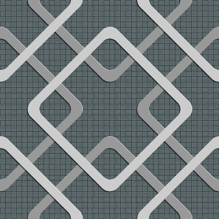 soft background: Seamless Square Pattern. Vector Soft Background. Regular Gray Texture