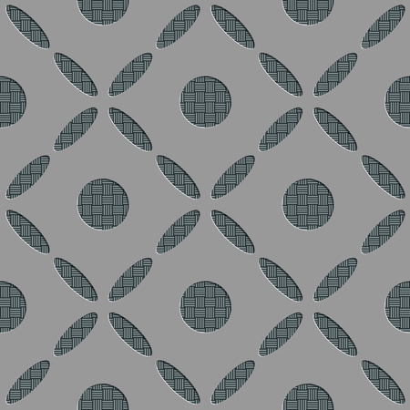soft background: Seamless Modern Pattern. Vector Soft Background. Regular Gray Texture