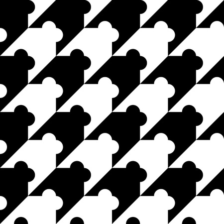 repeat pattern: Seamless geometric background, simple black and white pattern, accurate, editable and useful background for design or wallpaper.