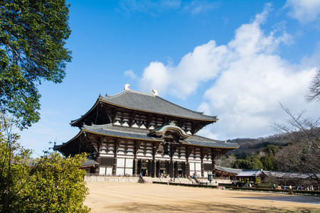 building structure: Todaiji in Nara