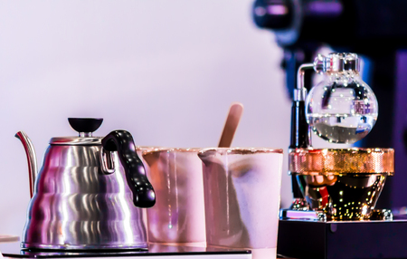 Siphon Coffee or Vacuum Coffee is full immersion tasteful, Blended smell and taste ofroasted coffee with direct contact boiled water.