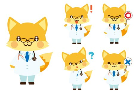 Fox Doctor Set
