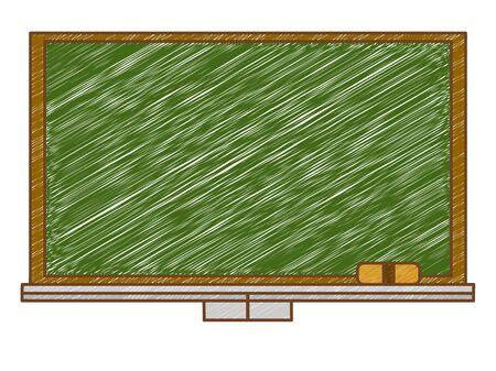 Hand-drawn blackboard