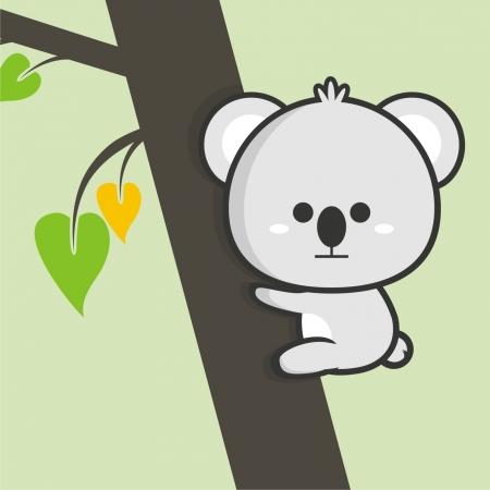 Little Koala Stock Vector - 18346280