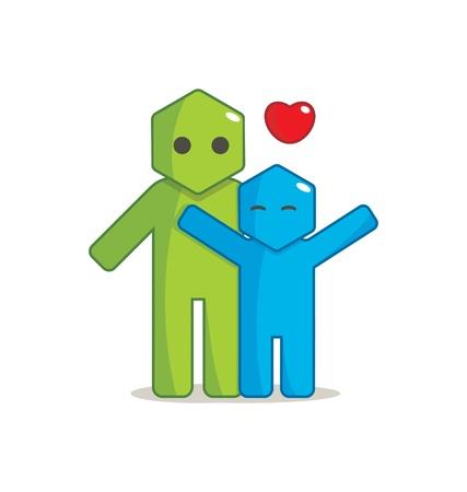 Hexagon Man - Affection