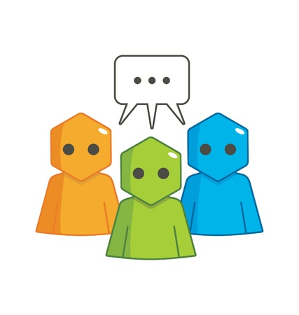 Hexagon Man - Communication