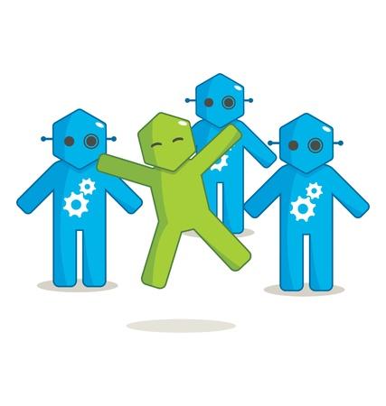 Hexagon Man - Different