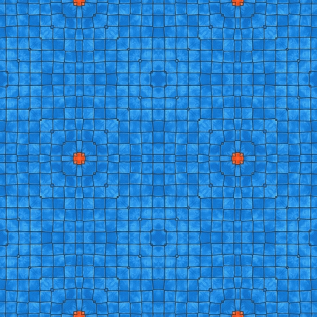 Blue seamless pattern of small squares. Texture design.