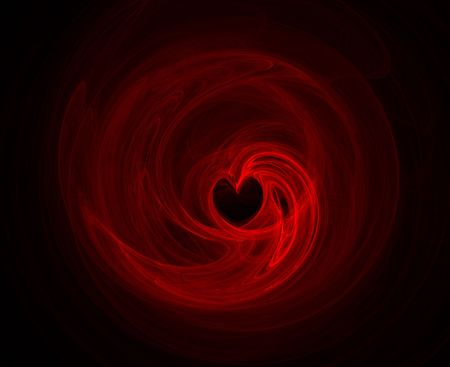 Background with heart in the center Stock Photo - 754828