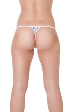 Torso of fashion model in sexy underwear
