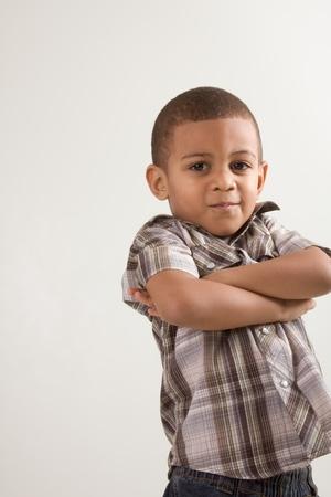 mulato: Ni�o peque�o joven