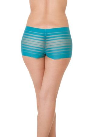 Torso of fashion model in sexy underwear photo
