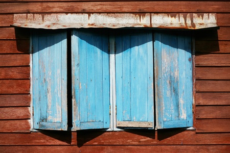 Old window opening