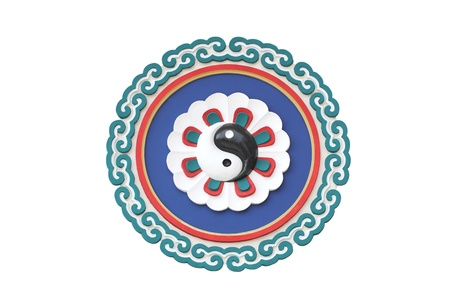 taoisme: Tempel van het taoïsme Symbool