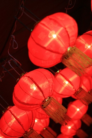 Chinese lantern in northern of thailand