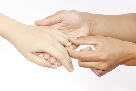 Wedding ring Stock Photo - 14301118