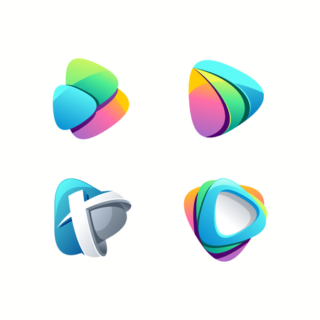 conception de logo de jeu génial