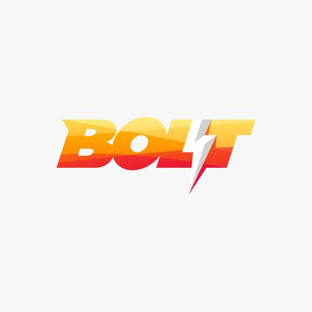 bolt logo design ready to use