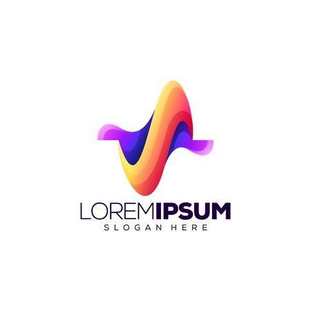 letter S logo design vector illustration