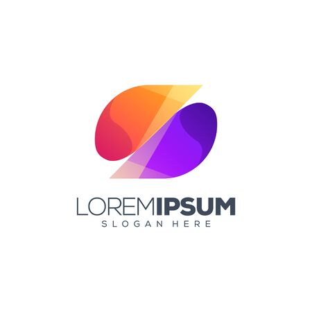 letter S logo design vector logo design