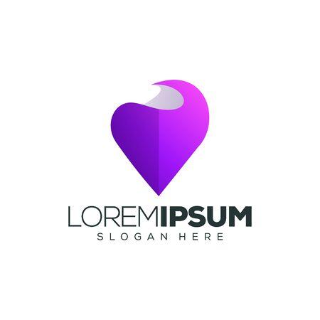 love logo design vector illustration