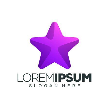 star logo design vector illustration 向量圖像
