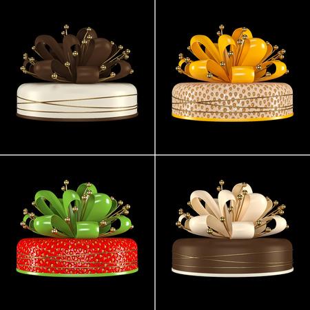 Cake gif Stock Photo