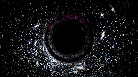 black hole: Black hole collapsar universe worm-hole dark spiral