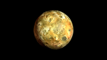 io: IO Planet Solar System background illustration space