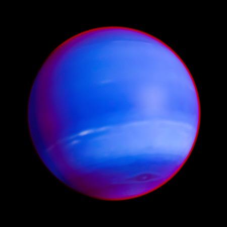 neptuno: Neptune Planet Solar System space isolated illustration
