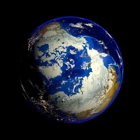 NASA から提供されたこのイメージの地球の要素 写真素材
