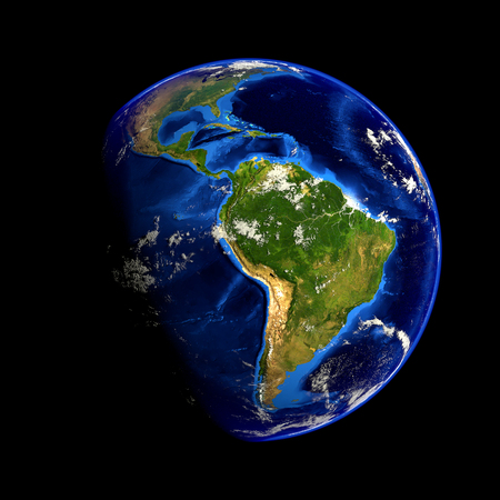 earth map: Earth Elements of this image furnished by NASA