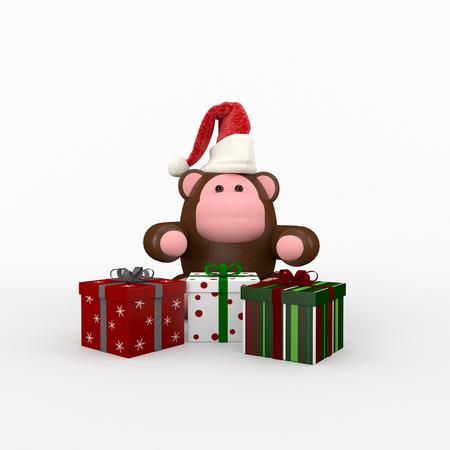 cristmas: Cristmas composition present Stock Photo