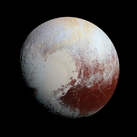冥王星惑星太陽系空間分離の図