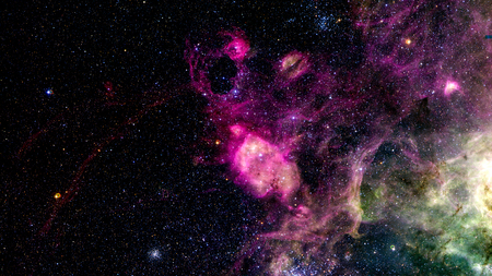 was: Background 5k image was made by telescope Stock Photo