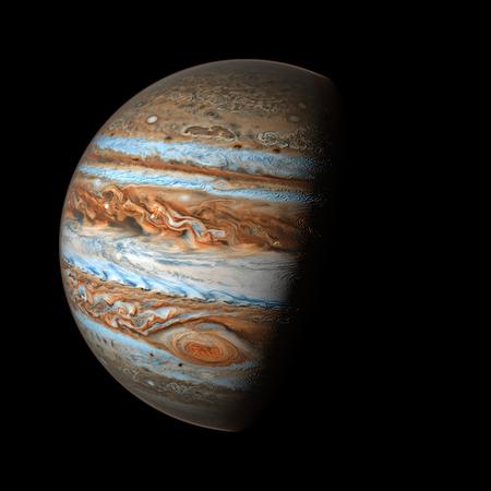 Giove Pianeta Sistema solare spazio isolato illustrazione