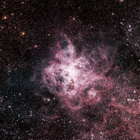 astral: Stars nebula, beautiful and colorfull explosive in space