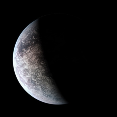 habitable: Fantasy Exo Planet isolated galaxy space Elements of this image furnished by NASA