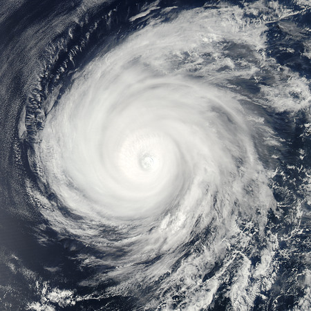 Global storm isolated space vortex. Elements of this image furnished by NASA