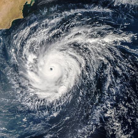 世界的な嵐の隔離された空間の渦。NASA から提供されたこのイメージの要素 写真素材