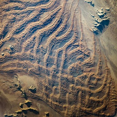 地球宇宙から平面図です。NASA から提供されたこのイメージの要素です。