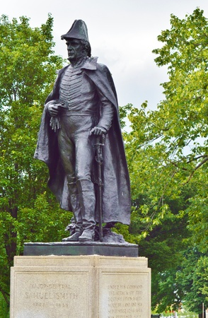 samuel: Statue of Major General Samuel smith