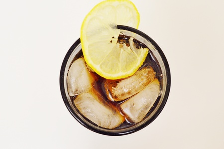 Lemon with cola
