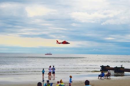rescuing: Ocean city