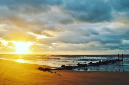 atlantic: Atlantic city sunrise