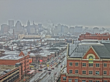 Baltimore city Stockfoto