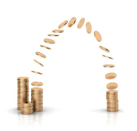 Money transfer. Remittance. 版權商用圖片