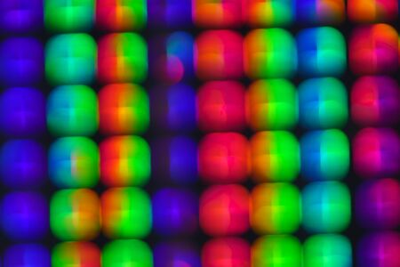 Abstract holographic iridescent gradient color background texture.