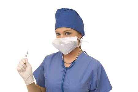 lpn: Female Doctor Stock Photo